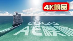 【原創】日出起航LOGO合成AE模板4KAE模板