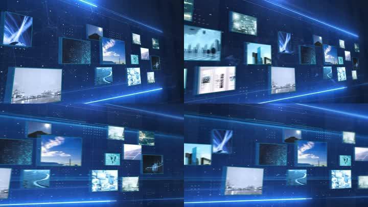 AE照片展示模板