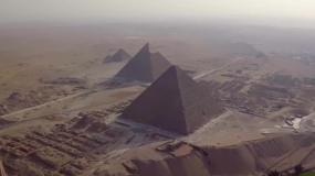 埃及金字塔狮身人面像视频素材