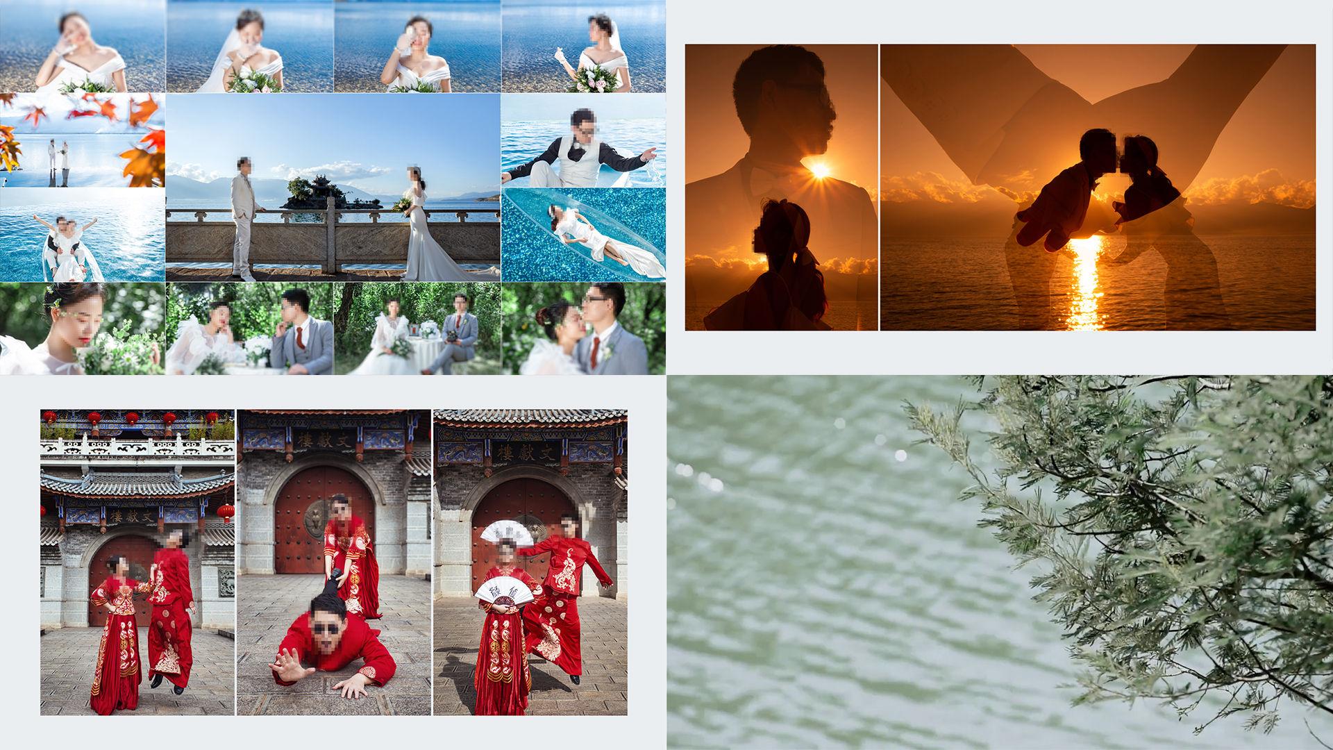 【就是爱你】韩式唯美婚纱照电子相册