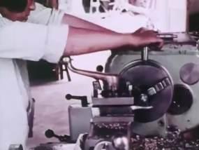 70年代農村小集體企業視頻素材