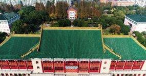 上海体育学院4K航拍素材视频素材
