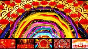 原创《张灯结彩》歌曲舞蹈配乐成品视频素材