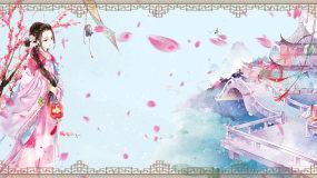 桃花扇-玄鸟传说-配乐成品视频素材