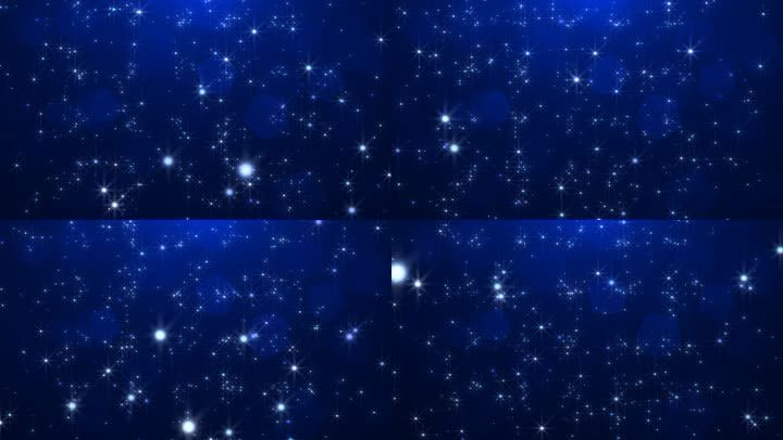 星光抒情背景