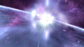 科幻太空超新星爆炸视频素材