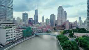 上海苏河湾视频素材