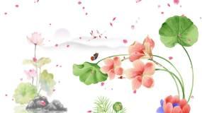 桃花扇歌曲配乐视频素材
