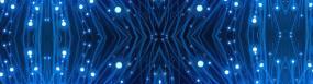 无限循环蓝色科技背景视频素材