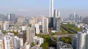 深圳南山区航拍4K视频素材包