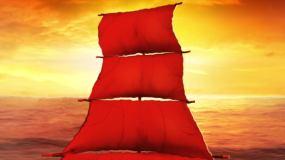 揚帆起航視頻素材