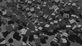 三維喜慶文字片頭C4D工程