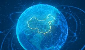 跨过企业国际合作中国到全球B视频素材