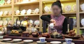 美女茶艺视频素材包