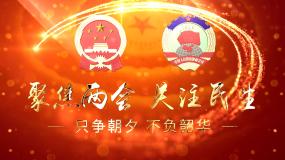 聚焦兩會黨政片頭-AE模板