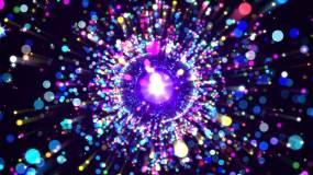 抒情粒子漩涡视频素材