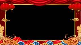 【原创】2020鼠年春节祝福边框E视频素材