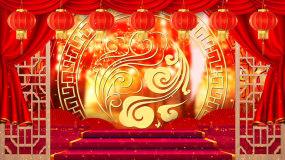 中国风相声戏曲背景视频_02视频素材