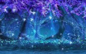 VJ-SL-紫藤花树视频素材包