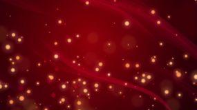 红色党政粒子背景视频素材