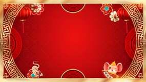 春节/过年背景视频素材
