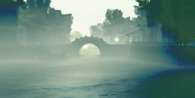 江南烟雨视频素材