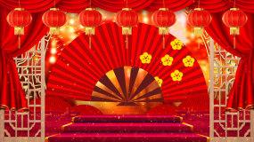 中国风相声戏曲背景视频视频素材