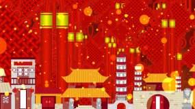 喜庆中国结视频素材