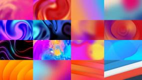 40组彩色图形背景2视频素材包