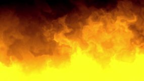 黃色煙霧金色煙霧影視背景素材視頻素材