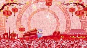 故乡是北京-刘晓配乐成品视频素材