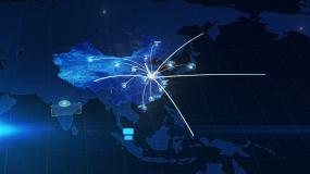 辐射世界地图AE模板