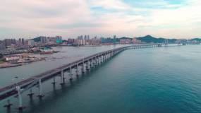 星海湾大桥视频素材