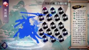 手游人物展示动画AE模板