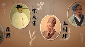 古人历史人物中医AE模板