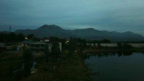 沂蒙山水库的早晨视频素材
