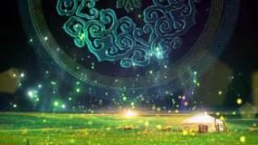 绿色草原背景视频素材