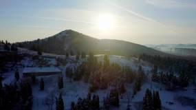 济南雪景航拍4K(上)视频素材