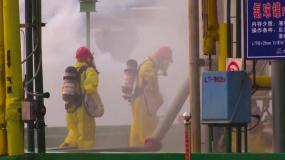 消防演习氨罐泄漏-排查救援视频素材包