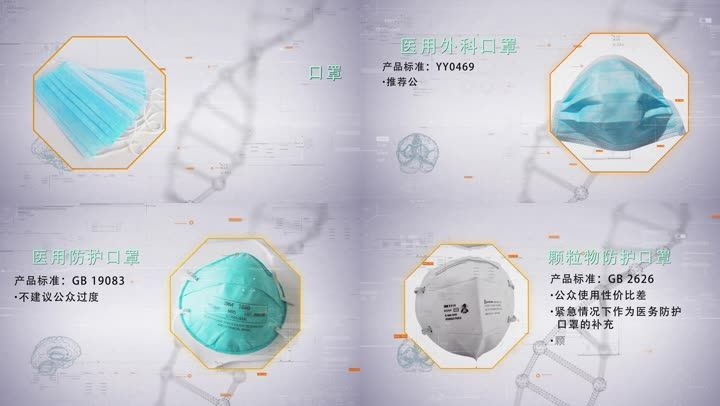 肺炎口罩选择和使用说明图文