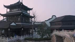 江南水乡航拍视频素材