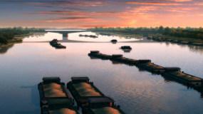 大運河視頻素材