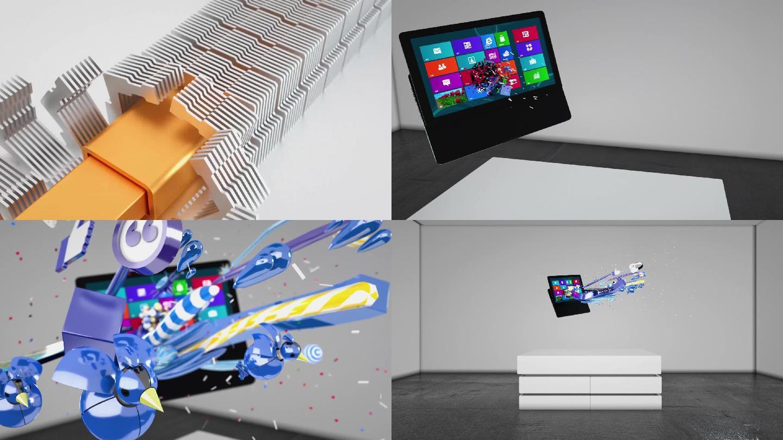 C4D电脑产品创意动画