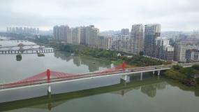 4k福建省漳州市芗城区航拍视频素材