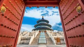 大气震撼北京天坛党政合成素材视频素材