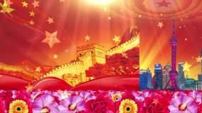 《东方红》群星配乐成品视频素材