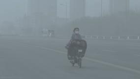 【原創】城市霧霾空氣污染尾氣視頻素材