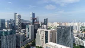 深圳城市航拍宣传片高楼大厦视频素材