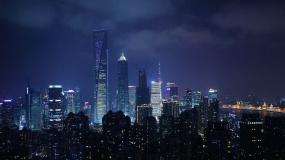 2020上海大气夜景星空延时摄影宣传片视频素材
