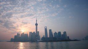 2020上海日出日落延时摄影宣传片视频素材